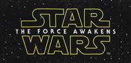 Star Wars: Episode VII The Force Awakens Logo Beach Towel