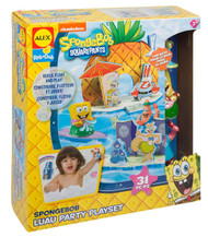 SpongeBob Luau Party Play Set Bath Toy