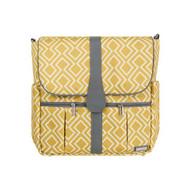 JJ Cole 'Citrine Lattice' Backpack Diaper Bag