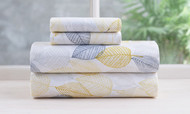 Vera 4 Piece Sheet Set (Full Size, Yellow)