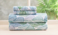Vera 4 Piece Sheet Set (Full Size, Green)