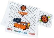 Cars Printed Velour 2-Piece Bath/Wash Towel Set