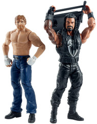 WWE Summer Slam Roman Reigns and Dean Ambrose Figures (2 Pack)