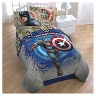 Marvel Captain America Twin Sheets Set