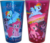 "My Little Pony ""Friendship is Magic"" 2 Piece Glass Set"