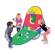 Playhut 3-in-1 Sports Arcade Playhouse