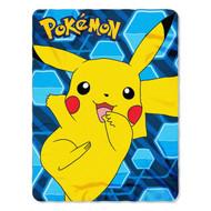 "Pokémon ""Pikachu"" Fleece Throw Blanket"