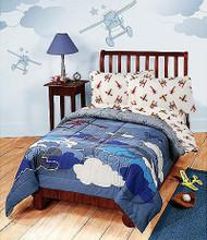 Disney Plane Crazy Twin Size Comforter