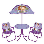 Sofia The First Kids Round Patio Set