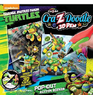 Crazy-Z-Art Doodle TMNT 3D Pen Pop Out