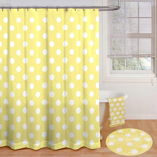 Polly Polka Dot Shower Curtain - Kids Whs