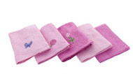 Disney Princess 'Like Royalty' 5pk. Washcloth Set