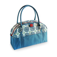 2 Red Hens 'Peacock Mum ' Coop Carry-All Diaper Bag