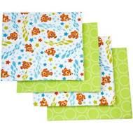 Disney Nemo 'Day at Sea' 4-Pack Flannel Blanket