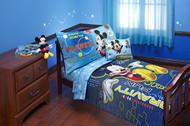 Disney Mickey's 'Space Adventures' 4-Piece Toddler Bed Set