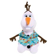 Disney Frozen Hawaiian Shirt Olaf Plush