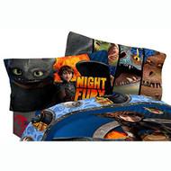 Dreamworks Dragons 'Dragon Flyer' Twin Size Sheet Set