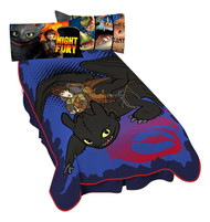 "Dreamworks Dragon ""Flight"" Plush Blanket"
