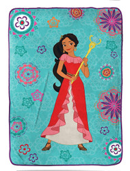 Disney Elena of Avalor Plush Twin Blanket