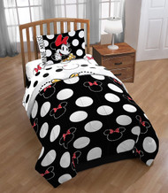 Minnie Mouse 'Classic Dots Couture' Twin Reversible Comforter