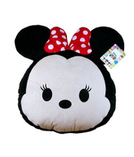Disney Tsum Tsum Minnie Mouse Face Pillow