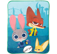 Disney Zootopia 'Bunny Ears' Plush Throw