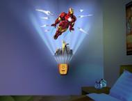 Iron Man - Wild Walls Light N' Sound Wallscape