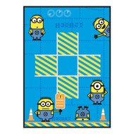 Despicable Me Tic Tac Toe Game Rug