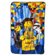 The Lego Movie 'Emmet' Plush Blanket