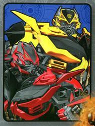 "Transformers ""Age of Extinction"" Plush Throw"