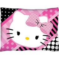 "Hello Kitty ""Dots Purrty""  Travel Pillow"