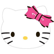 "Hello Kitty ""Pretty Kitty Cat"" Decorative Pillow"