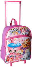 "Shopkins 12"" Mini Rolling Backpack"