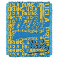 NCAA UCLA Bruins Collegiate Woven Jacquard Throw