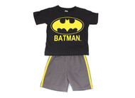 "Batman ""Logo"" 2 Piece T-Shirt & Shorts Set"