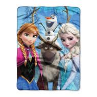 Disney Frozen 'Frozen Gang' Silk Touch Throw
