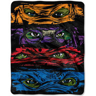 TMNT 'Out of the Shadows' Silky Soft Throw