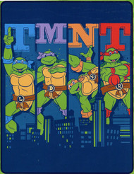 TMNT 'Cowabunga City Ninja!' Silky Soft Throw