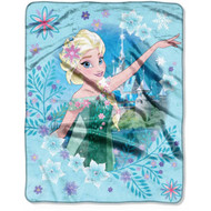Disney Frozen 'Spring Fever' Silky Soft Throw