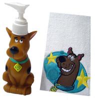 Scooby-Doo Bath Buddies 2 Piece Set