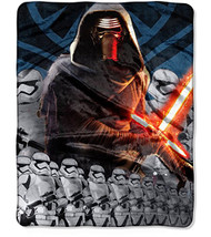 Star Wars: The Force Awakens 'Lead Force' Silky Soft Throw