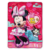 """Minnie Mouse """"Pet Friends"""" Silk Touch Throw"""