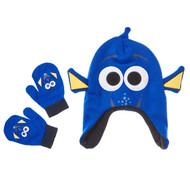 Disney Finding Dory 'Dory' Toddler Winter Hat & Mitten Set