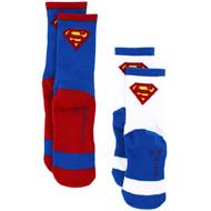 Superman Boys 2-Pack Athletic Socks
