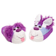 Stompeez Playful Blue Puppy Slippers (Small/Medium)