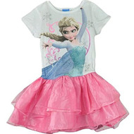 Disney Frozen 'Elsa' Pink Tutu Dress