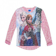 Disney Frozen 'Anna and Elsa' Lightweight Sweater (Pink)