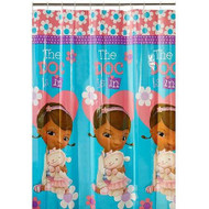 Disney Doc McStuffins PEVA Shower Curtain