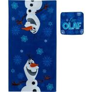 Disney Frozen 'Olaf' Bath Towel & Wash Cloth Set
