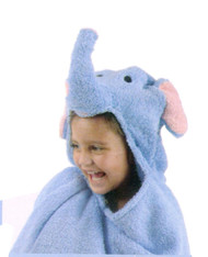 Just For Kids Elephant Hooded Bath Towel